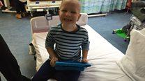 Parents' appeal over sick boy