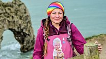 'I walked 6,000 miles in memory of my daughter'