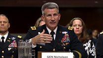 ارگ: کابل و واشنگتن در باره مبارزه با تروریسم نگرانی مشترک دارند