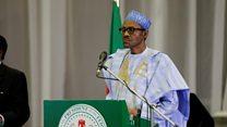 Shugaba Buhari na Nigeria