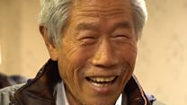 Joy as Chinese man reunited with family
