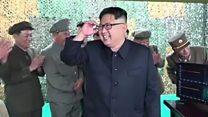 """""""صاروخ كوريا الشمالية يختبر إدارة ترامب """""""