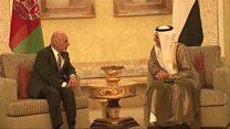 دیدار رییس جمهور افغانستان با خانواده های دیپلماتهای هراتی
