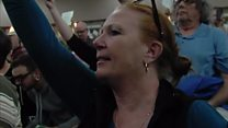 Angry protesters harangue Republicans