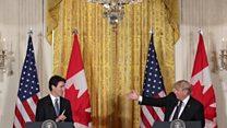 Trudeau 'won't lecture Trump'