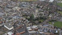[FOR TUESDAY] Gloucester from the air