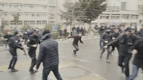 Marmara Üniversitesi'ne protestoya saldırı