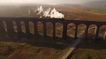 Tornado crosses landmark viaduct