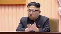 朝鲜领袖金正恩出席金正日冥寿纪念仪式