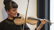 What does a spider silk violin sound like?