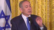 نتنياهو يضع شرطين للحل السلمي بين أسرائيل والفلسطينيين