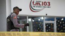 Dominican Republic: Two radio journalists shot dead mid-broadcast