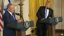 トランプ氏「僕はどちらでもいい」 中東紛争の解決方法