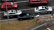 Dramatic car chase across Brisbane