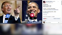 Odd Facebook videos 'promote fake news'
