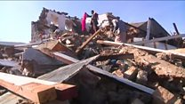 Building razed by deadly Yemen airstrike