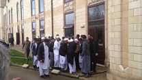 Funeral of Irfan Wahid