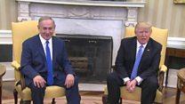 မစ္စတာ ထရမ့်နဲ့အစ္စရေး ဝန်ကြီးချုပ် တွေ့ဆုံ