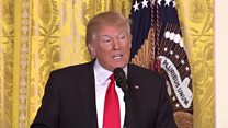 Trump launches new attack on media