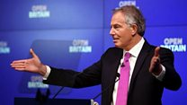Blair: UK is rushing over cliff edge