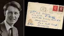 The love letters between WW2 soldiers