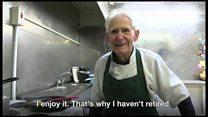 Meet Roy Handford, the 94-year-old dish washer boy