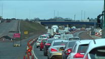 Drivers warned of M8 diversions