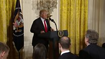 دونالد ترامپ: دولت دقیق کار میکند اما رسانهها دروغ میگویند
