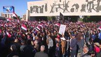 """الآلاف يشاركون في مظاهرات """"صامتة"""" في بغداد ومحافظات أخرى دعا إليها الصدر"""