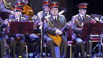 Red Army Choir performs after tragedy