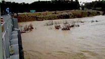 سیل در استان های بوشهر و فارس؛ یک سد خاکی خراب شد و آبش به شهرستان جهرم سرازیر شد