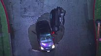 Two cars fall into sinkhole in Los Angeles