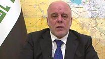العبادي يعلن انطلاق عملية استعادة غرب الموصل