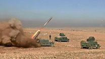 الجيش العراقي يعلن احرازه انتصارات مبكرة أثناء تقدمه صوب غرب الموصل