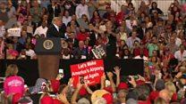 یک ماه پس از آغاز به کار؛ دونالد ترامپ به آغوش هوادارانش پناه برد