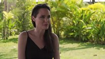 Extended interview with Angelina Jolie