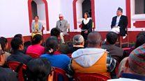 सोमप्रसाद पाण्डेय, हरिप्रसाद नेपाल र तुलसा रानासँग