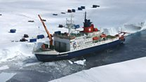 Polar ship plans to be locked in ice