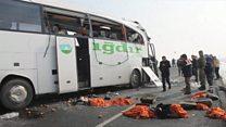 Türkiyə: avtobus qəzasında Azərbaycan vətəndaşları ölüb və yaralanıb