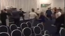 Police probe mass brawl at boxing event