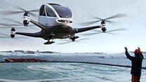 Así serán los primeros taxis voladores del mundo