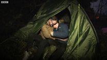 Watch: Wedding bells for a homeless couple