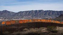 ABD'nin Meksika sınırındaki duvarını Meksikalılar inşa ediyor