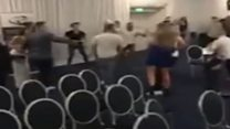 'Large scale disorder' at Leeds boxing event