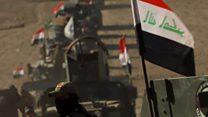 تقدم القوات العراقية في معركة الموصل