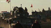 مغربی موصل کی جانب پیش قدمی