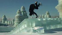 Фріранер пробігся вулицями льодового міста