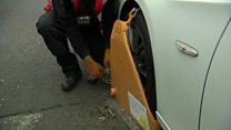 Clamping blitz makes for taxing time