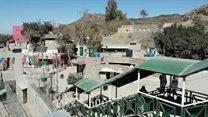پاک افغان سرحد پر ویرانی