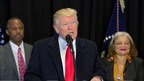 Trump says 'ugly' anti-Semitism must stop
